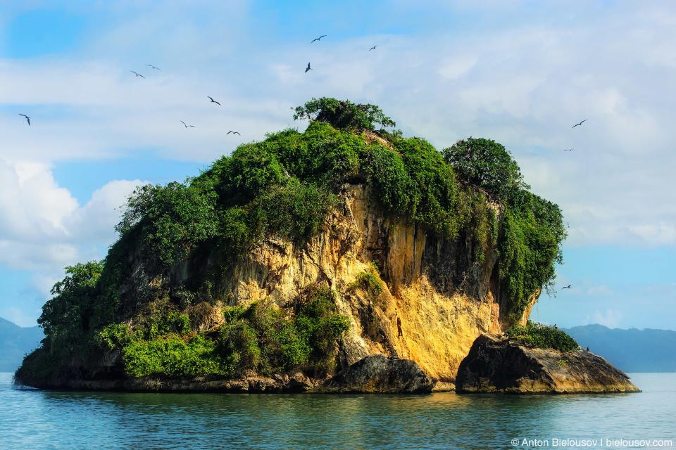 Dominican Republic — Los Haitises birds island