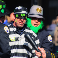 Crime and Cops at Toronto St. Patrick Parade