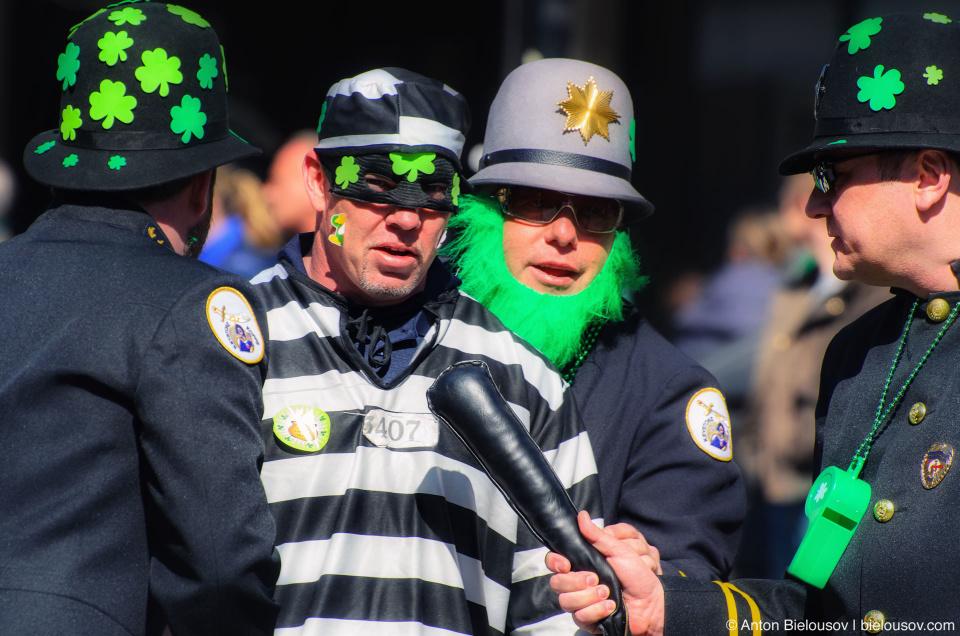 Crime and Cops at Toronto St. Patrick Parade