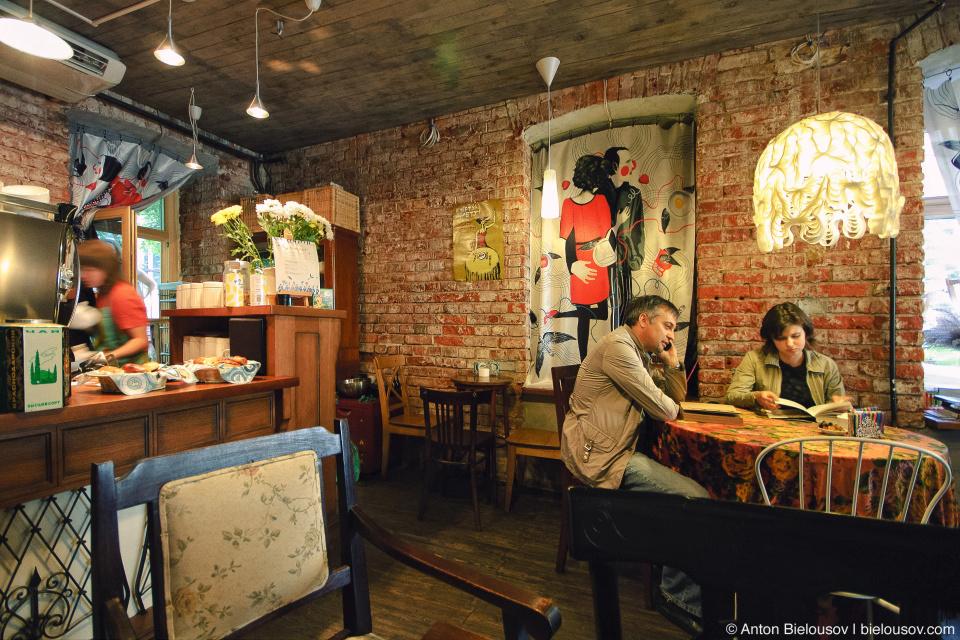 Кафе студии Лебедева в Москве