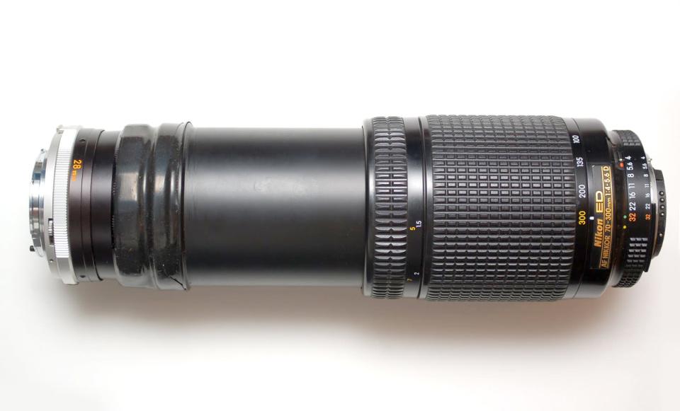 Nikon coupling rings