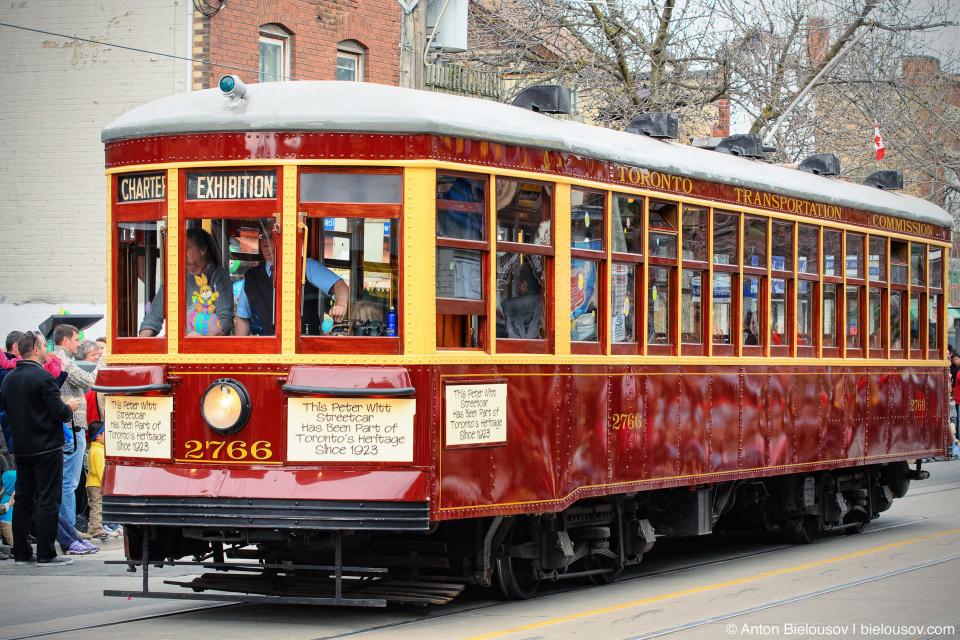 Toronto TTC Peter Witt streetcar from 1923