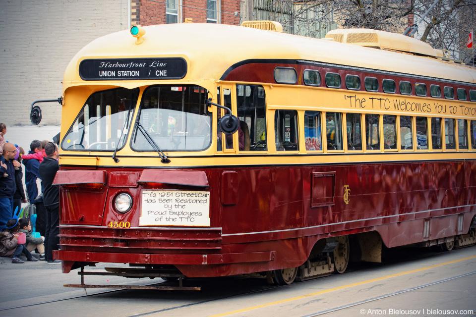 Toronto TTC Streetcar, 1951