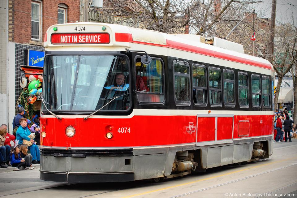 Toronto TTC Streetcar
