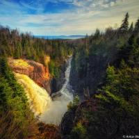 Трансканэтноэксп. День 2 <br/><small>Северное Онтарио: Aguasabon Falls, White River, Thunder Bay</small>