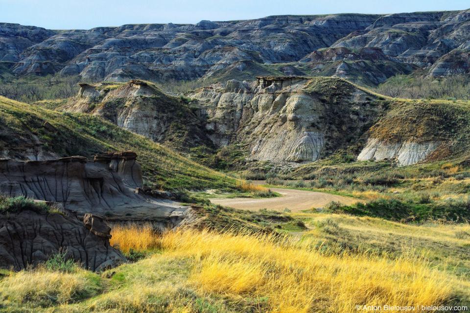 Dinosaur Provincial Parkv