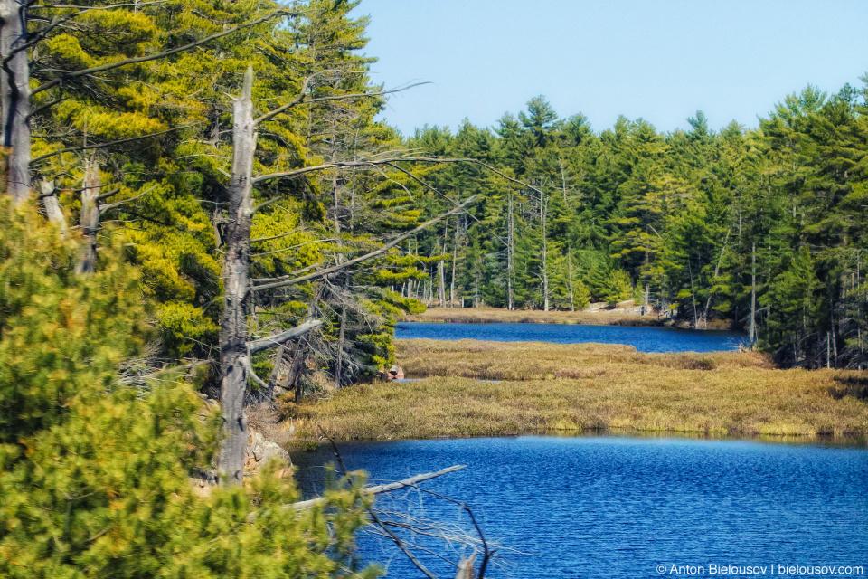 North Ontario lakes at Trans-Canada Highway