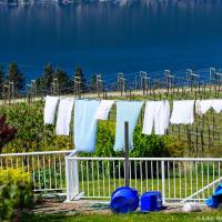 Okanagan lake wine country