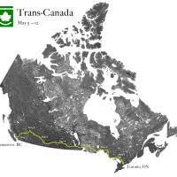Трансканадский автопробег <br/><small>из Торонто в Ванкувер</small>