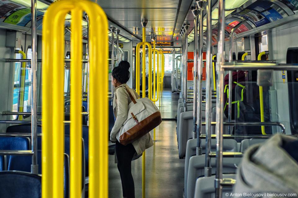 Vancouver subway car