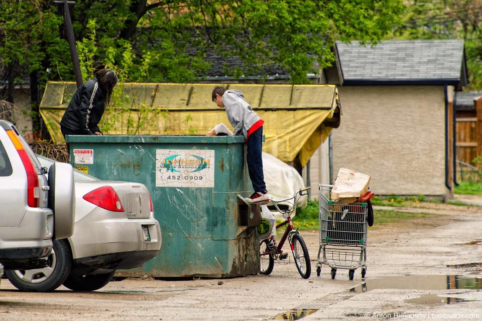 Winnipeg homeless