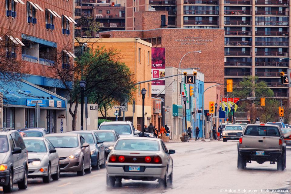 Winnipeg street