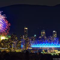 Финал фестиваля фейерверков в Ванкувере (2012)