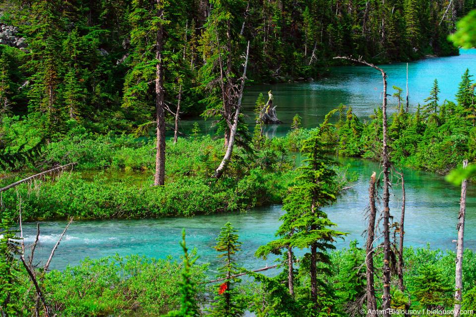 Joffre Lakes river