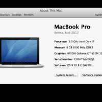 MacBook Pro Retina — первые впечатления
