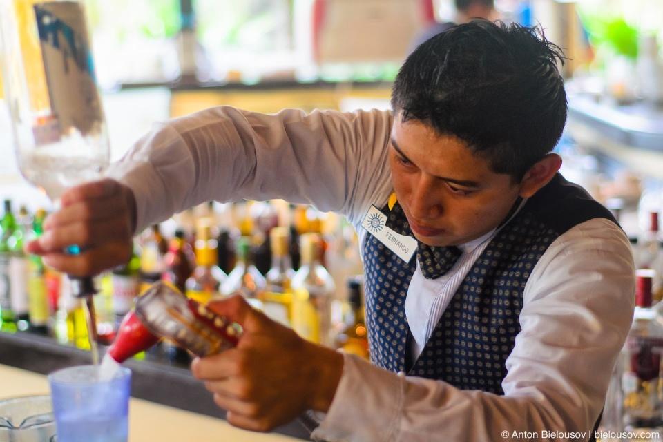 Мексиканский бармен Фернандо