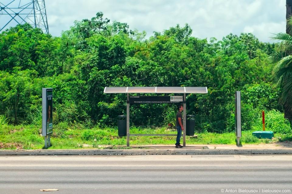 Мексиканская автобусная остановка