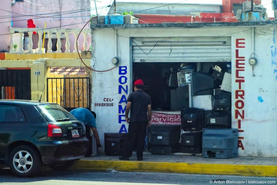 Мексиканский супермаркет электроники