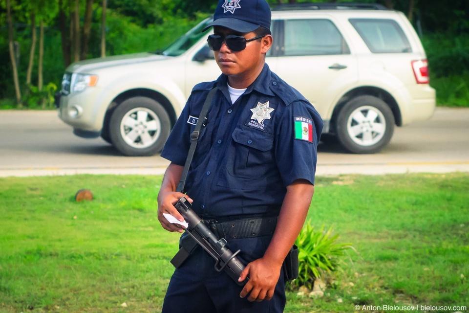 Муниципальная полиция Мексики