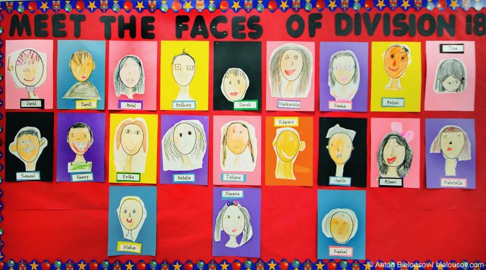 Chaffey Burke School division 18 self-portraits