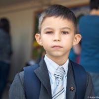 Антошин первый день в канадской школе