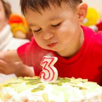 Торт на 3 годика (Харьков, 2009)
