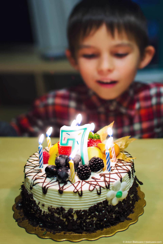 Торт на 7 лет (Ванкувер, 2013)