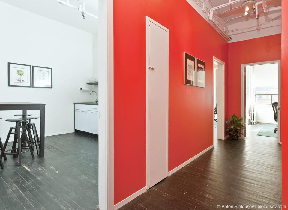 Mobify ofice Hallway