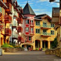 Sun Peaks village downtown