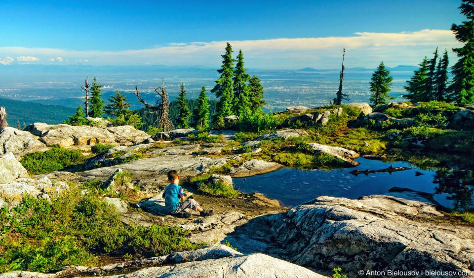 1,401м — Вершина Козлиной горы (Goat mountain, Vancouver)