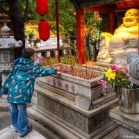 Свечка на покрова<br/><small>Международный Буддистский Храм (Ричмонд)</small>