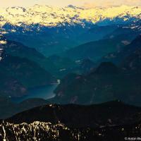 Горы Британской колумбии с горными озерами