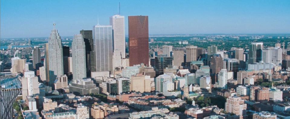 Resident Evil: перекроенный вид на даунтаун Торонто