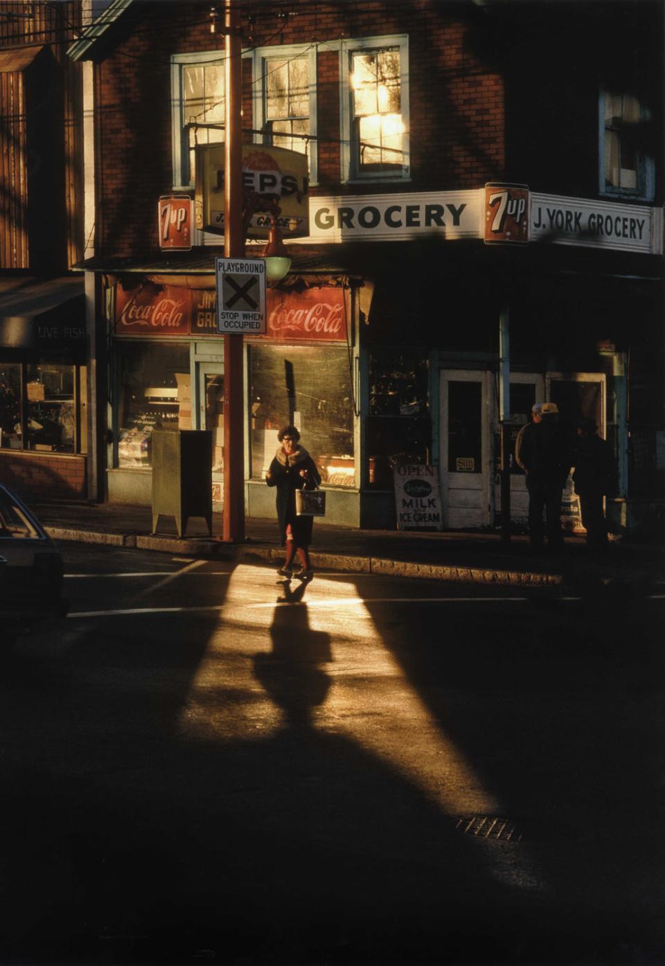 Переход через Паувэл, 1984 год. (© Fred Herzog)