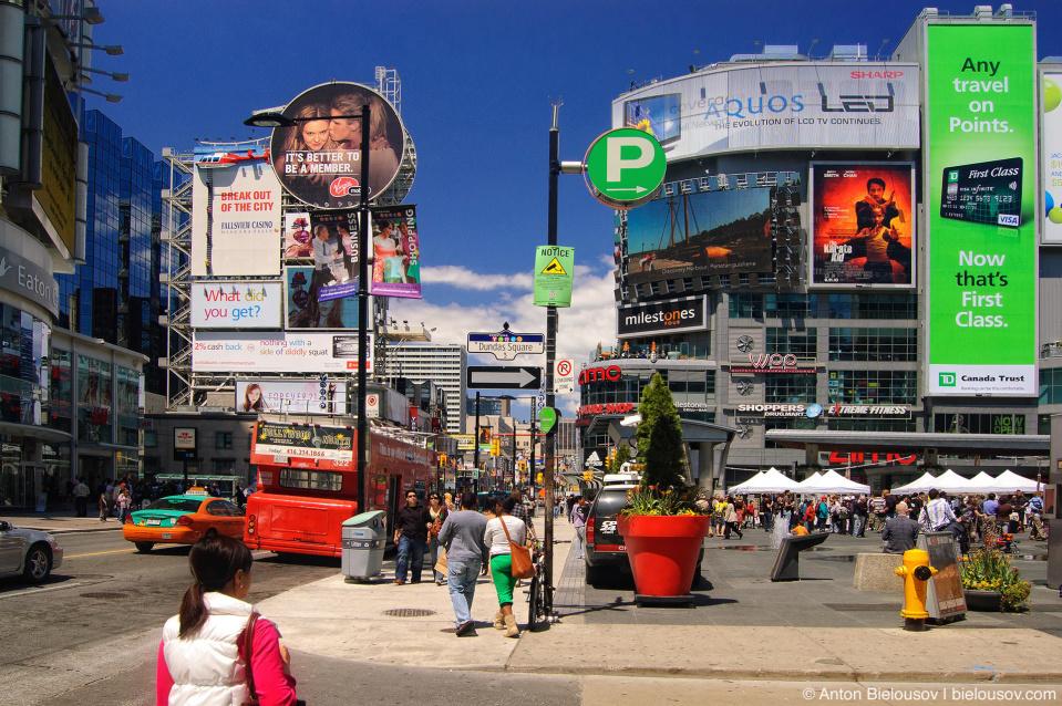 Toronto Yonge/Dundas Square