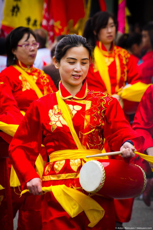Китайска барабанщица