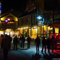 Ночные улицы Вистлера