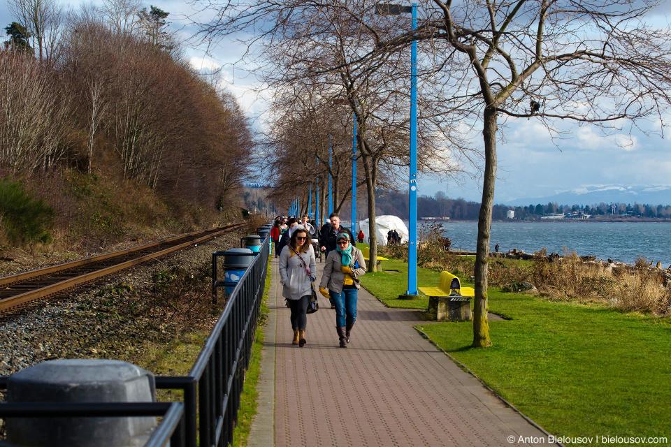 White Rock Promenade