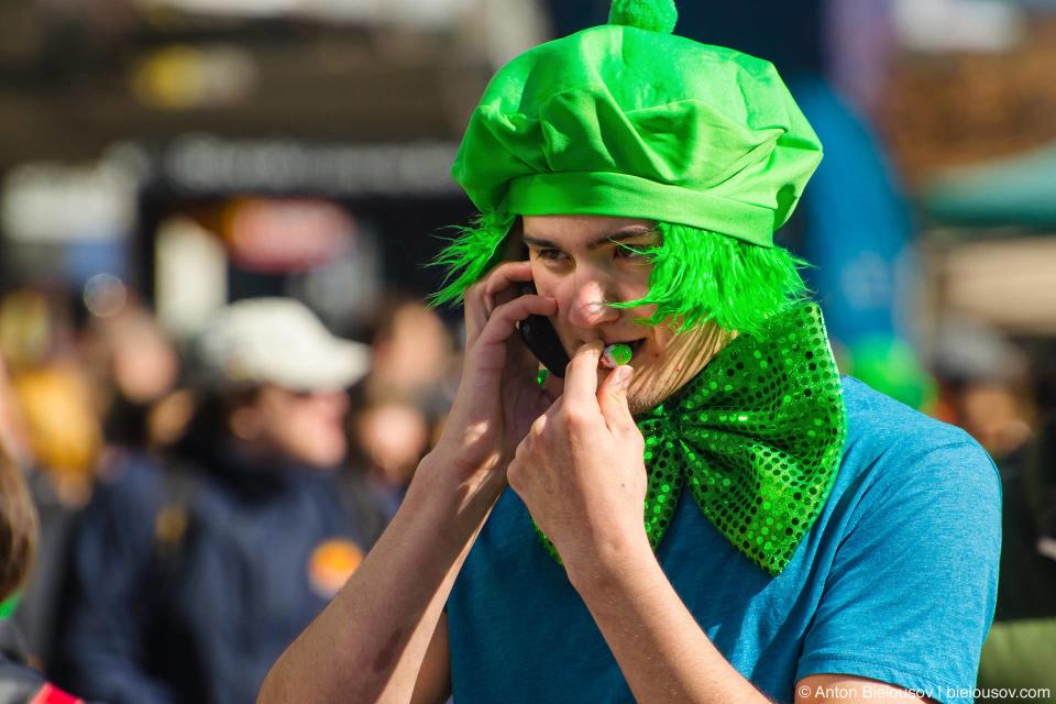 Прикид на День Святого Патрика (St. Patrick Parade, Vancouver 2013)