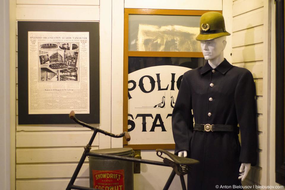 Ванкуверский полицейский начала XX века