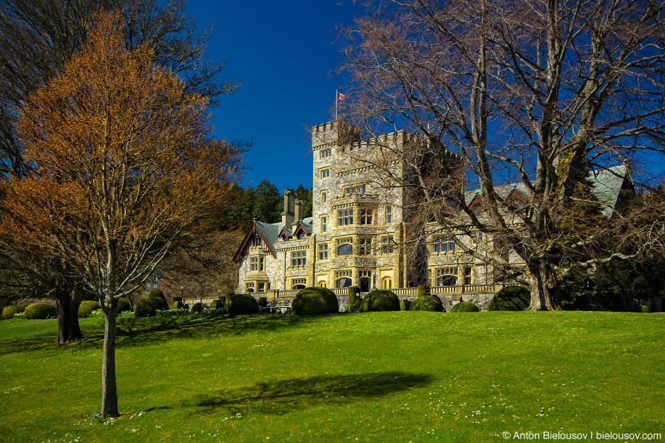 Замок британского индустриалиста Джеймса Дансмуира — Hatley Castle