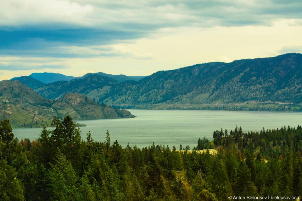 Озеро Оканаган (Okanagan Lake, BC)