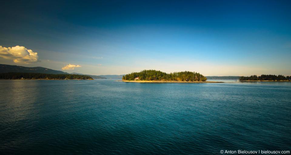 Фьорды острова Ванкувер в проливе Джорджии