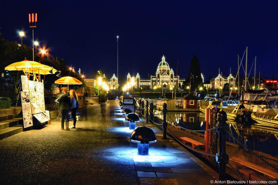 Туристический центр Виктории: Inner Harbour