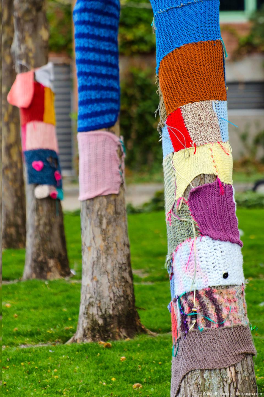 Вязаные деревья. (Kelowna, BC)