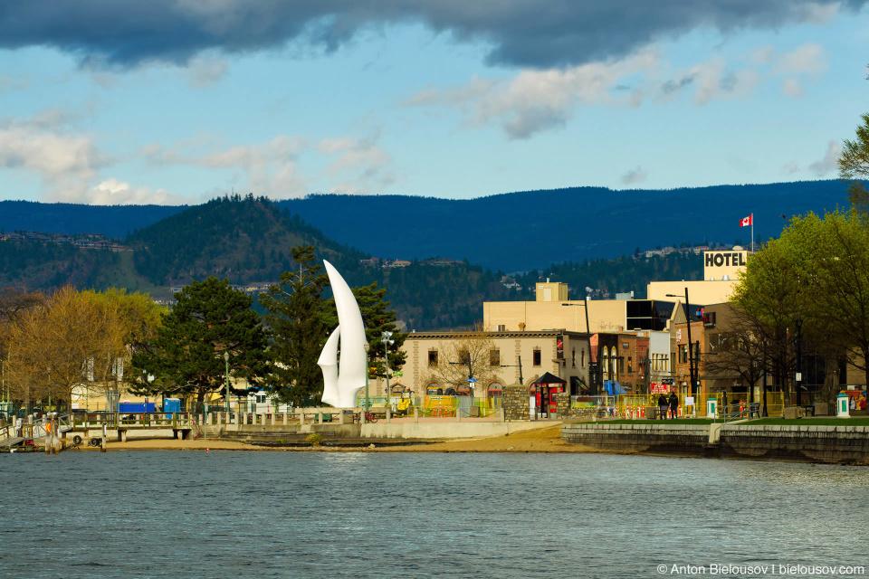 Набережная Келоуны (Kelowna, BC)
