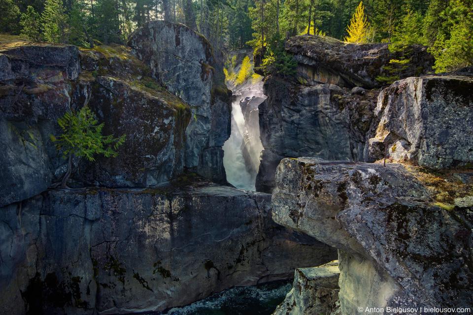 Nairn Falls near Pemberton, BC