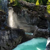Водопады на шоссе Sea to Sky