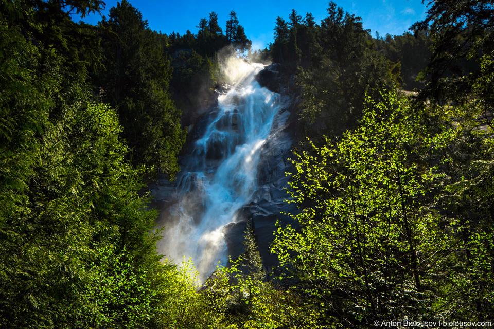 Водопад Shannon Falls