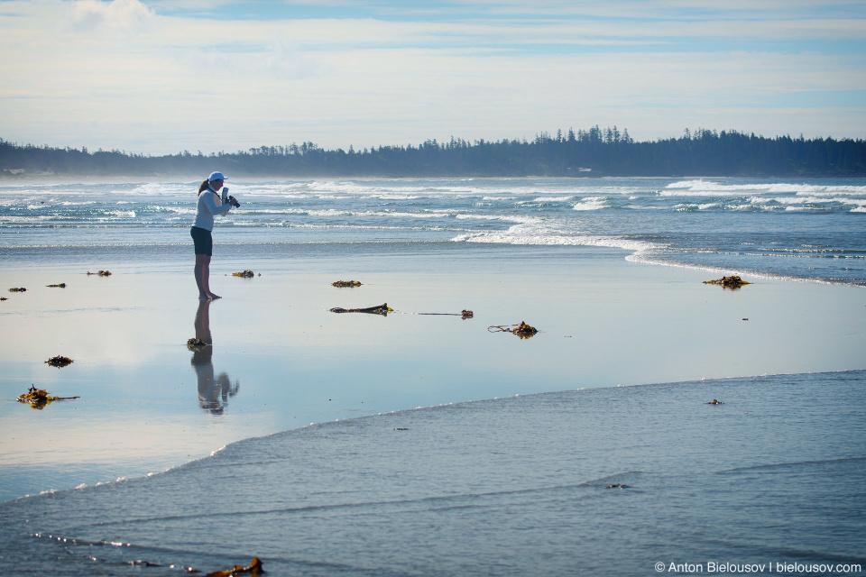 Пляж в Pacific Rim National Park